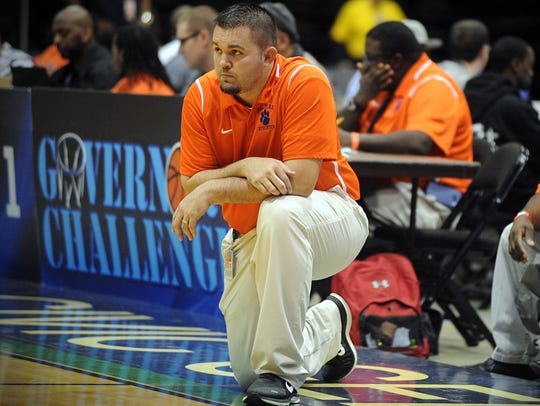 Shawn Phillips is in his second season with the Delmar basketball team.