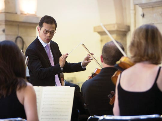 Maestro David Chan at work