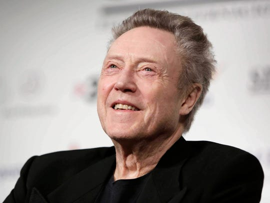 Christopher Walken at a film festival in Barcelona,