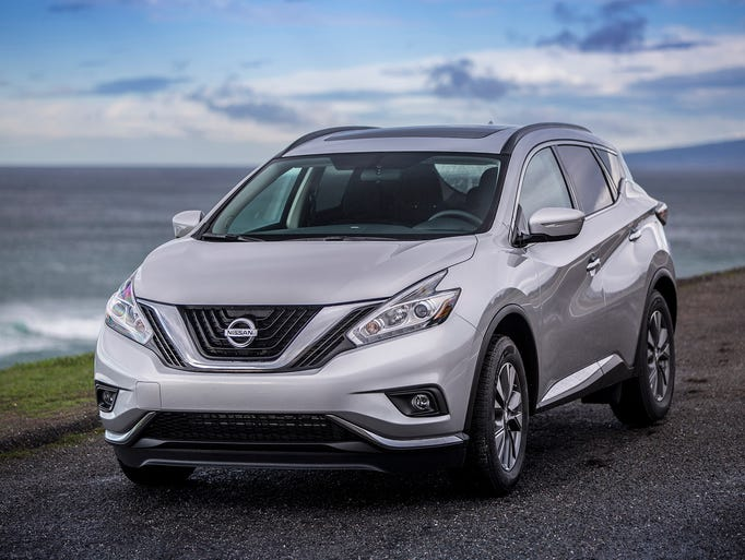 The new 2015 Nissan Murano carries Nissan's new design