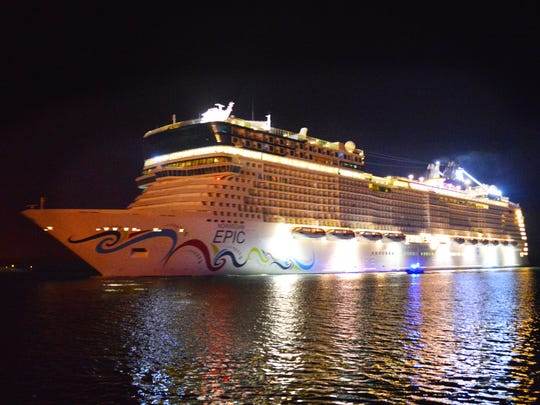 Norwegian Cruise Line's Epic arrived at Port Canaveral