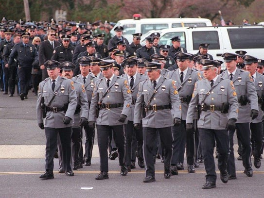 Long Branch Honors Slain Cop Patrick King