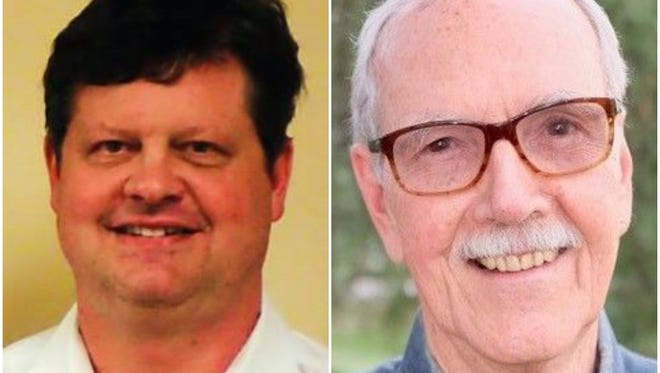 Brandon Peters and Bob Rackleff are candidates in the Democratic Primary for U.S. House, Florida District 2.