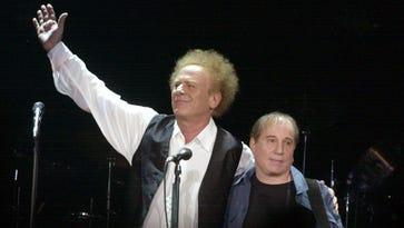 Art Garfunkel and Paul Simon of Simon and Garfunkel.