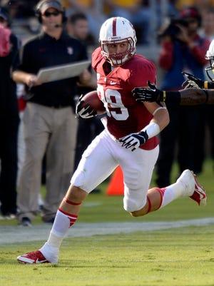 Former Stanford Cardinal wide receiver Devon Cajuste.