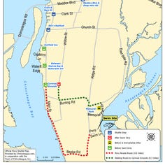 Here's how you can catch a free shuttle to Chincoteague Pony Swim site