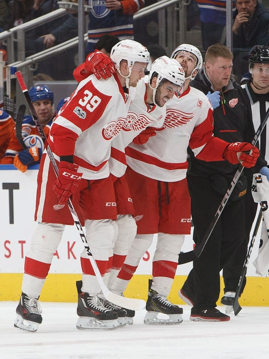 Ryan Sproul, Anthony Mantha, Xavier Ouellet