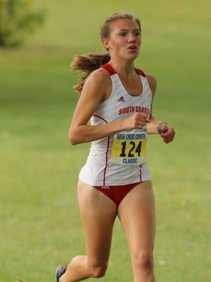 Megan Billington is in her third season in the Coyotes' distance running program.