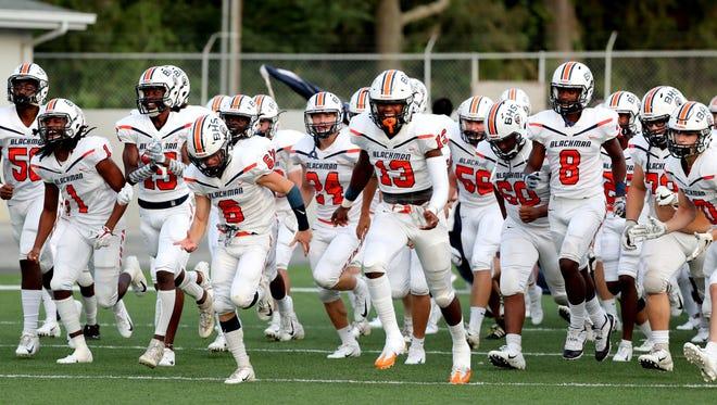 Blackman's football team will put its 3-0 record on the line at Smyrna Friday night.