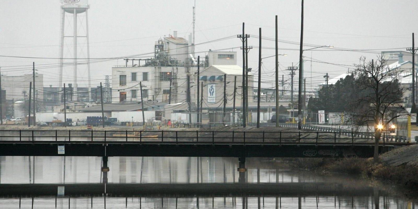 N J  town files $1 billion lawsuit against DuPont