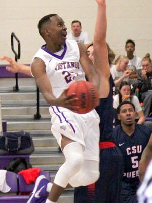 Western's Willie McCray led the Mustangs in scoring over the weekend with 29 points in two games.