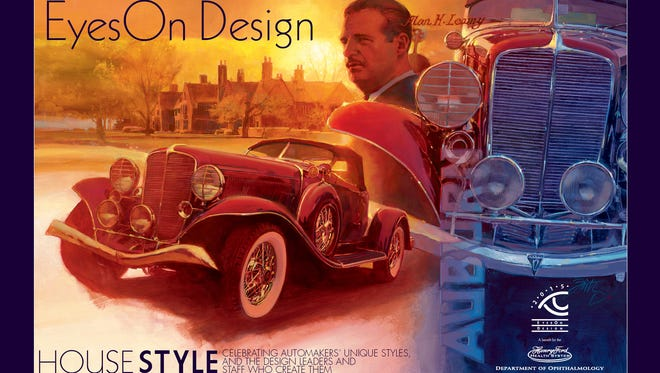 The poster for the 28th annual Eyes On Design car show, Sunday, June 21.