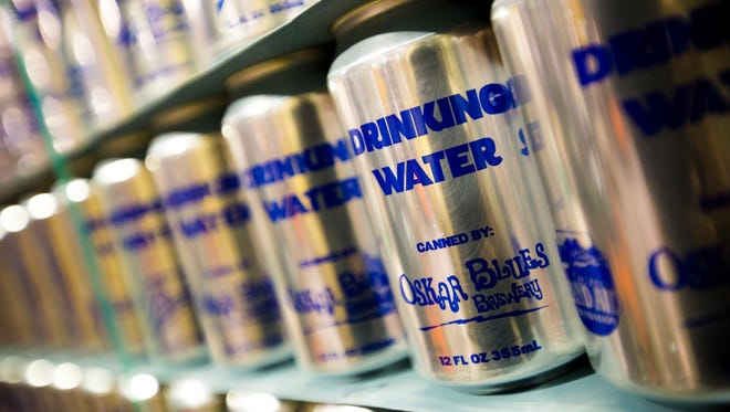 Oskar Blues Brewery in Brevard has shipped thousands of cans of drinking water to Flint, Michigan. A shipment of 50,000 cans was expected to arrive Tuesday.