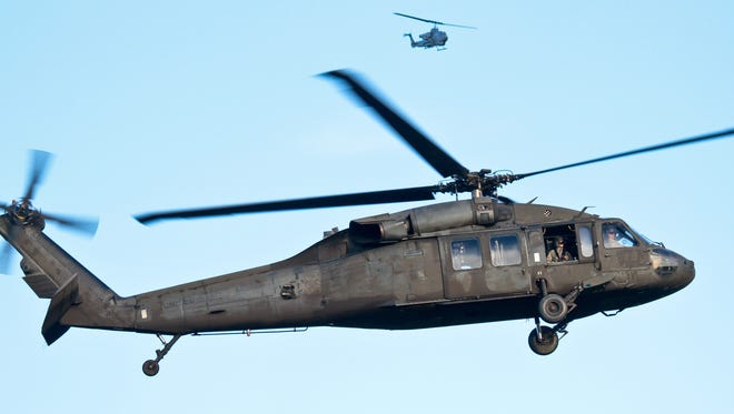 The event at the Eisenhower National Historic Site will feature the Black Hawk helicopters landing and taking off, as well as an opportunity for the public to observe and explore a powered-down helicopter.