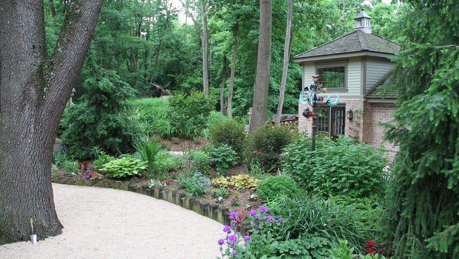 The lush Wagner gardens are ready for the Allison-Antrim Garden Tour.
