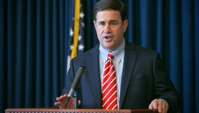 Gov. Doug Ducey signed an order in October 2016 that seeks to limit painkiller prescriptions to seven days in a bid to restrict access to highly addictive drugs.