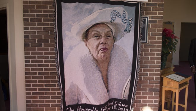 Civil rights leader and former Greenville County Councilwoman Lottie Gibson was remembered by more than 100 mourners at her funeral on Friday.
