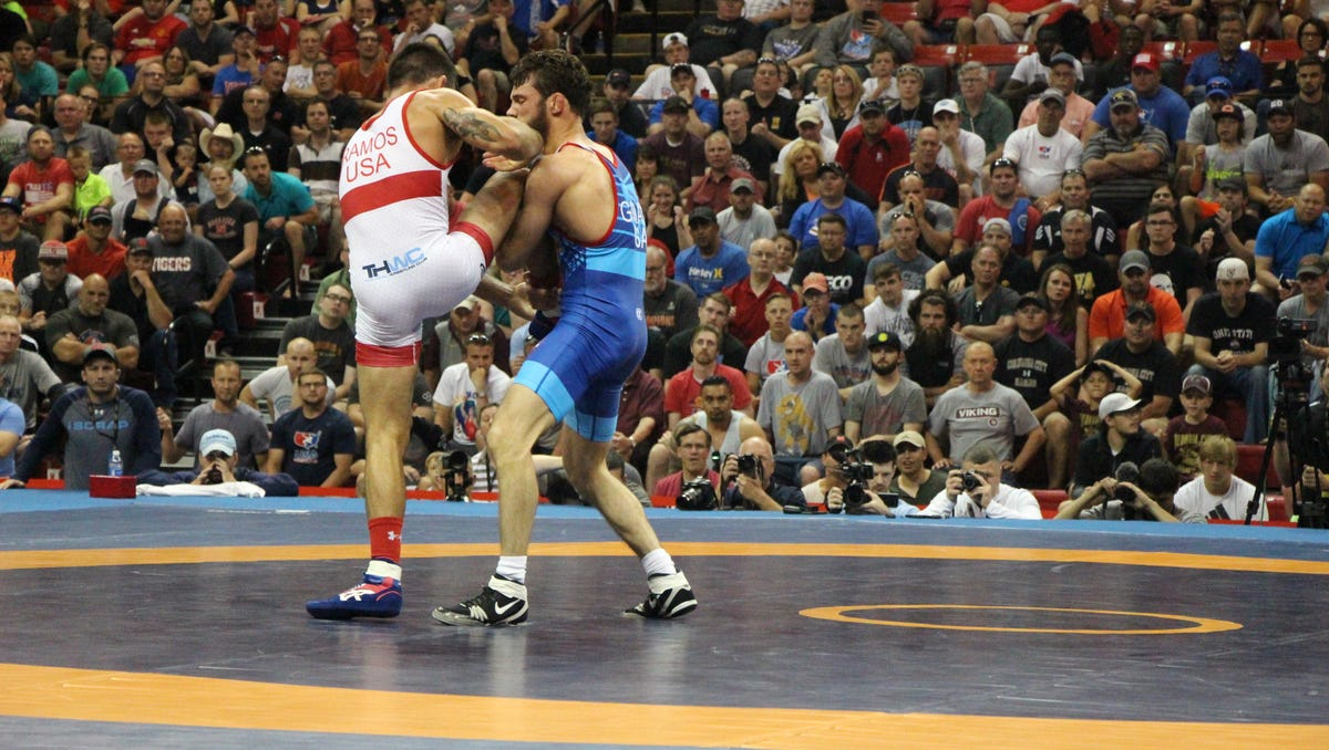 Gilman wrestles to finals at first World Championships 06e54773b2f65