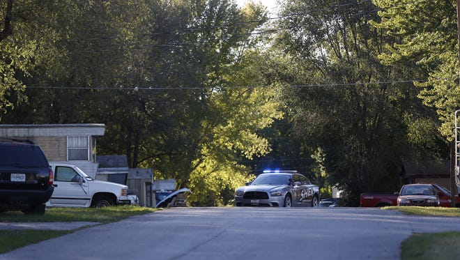 Greene County sheriff's deputies responded to a drive-by shooting Saturday afternoon at Dayton Mobile Home Park on South Scenic Avenue and found one person dead.