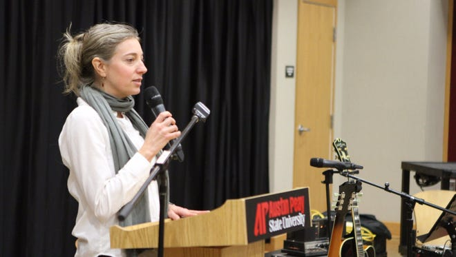 Austin Peay State University on Monday night hosted the 23rd annual Bread and Words, a reading of poetry and fiction by students and faculty from the creative writing program. Proceeds from the event will benefit the APSU Food Pantry.