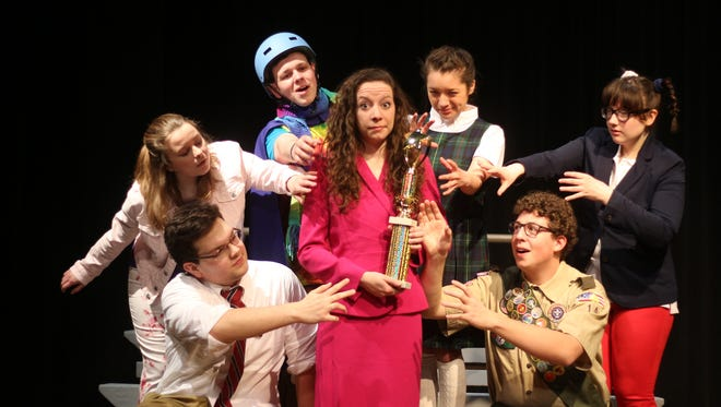 """Ripon College will present """"The 25th Annual Putnam County Spelling Bee"""" at 7:30 p.m. Feb. 28 to March 3."""