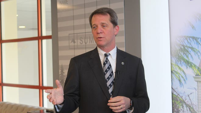 Rep. James Smith, a Democrat who is running for governor, visited a solar company in downtown Greenville on Friday. He said legislators made a mistake by defeating legislation this week that was intended to promote solar energy in South Carolina.