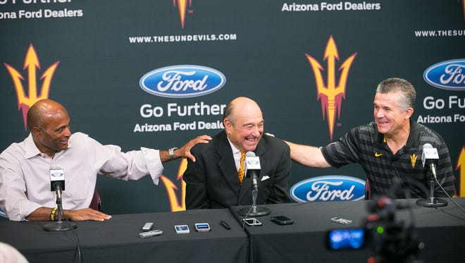 Steve Butterfield was among ASU's biggest donors and supporters.