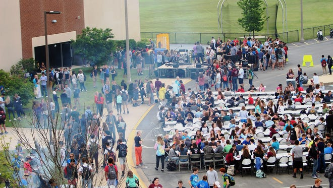 The 2017 Grilling 2 Give event drew a crowd to Oconomowoc High School. This year's event is planned for May 24.