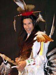 Menominee and Potawatomi dancer Art Shegonee will demonstrate