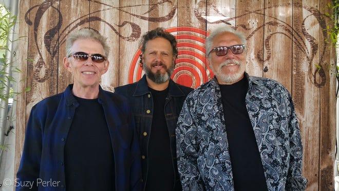 Jack Casady, left, Jason Guip and Jorma Kaukonen of Hot Tuna.