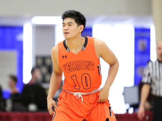 Christian David averaged more than six assists a game at Vermont Academy.