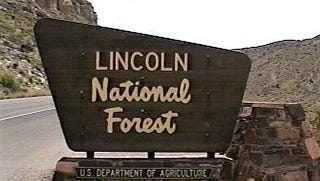 Lincoln National Forest Sacramento Ranger District