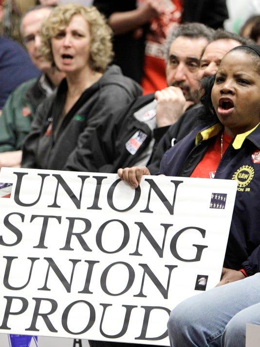Supreme Court labor unions