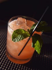 A Sweet Briar drink at Josephine restaurant on the