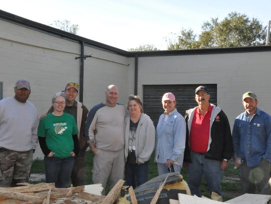 A Leadership Montgomery class helps renovate an arts