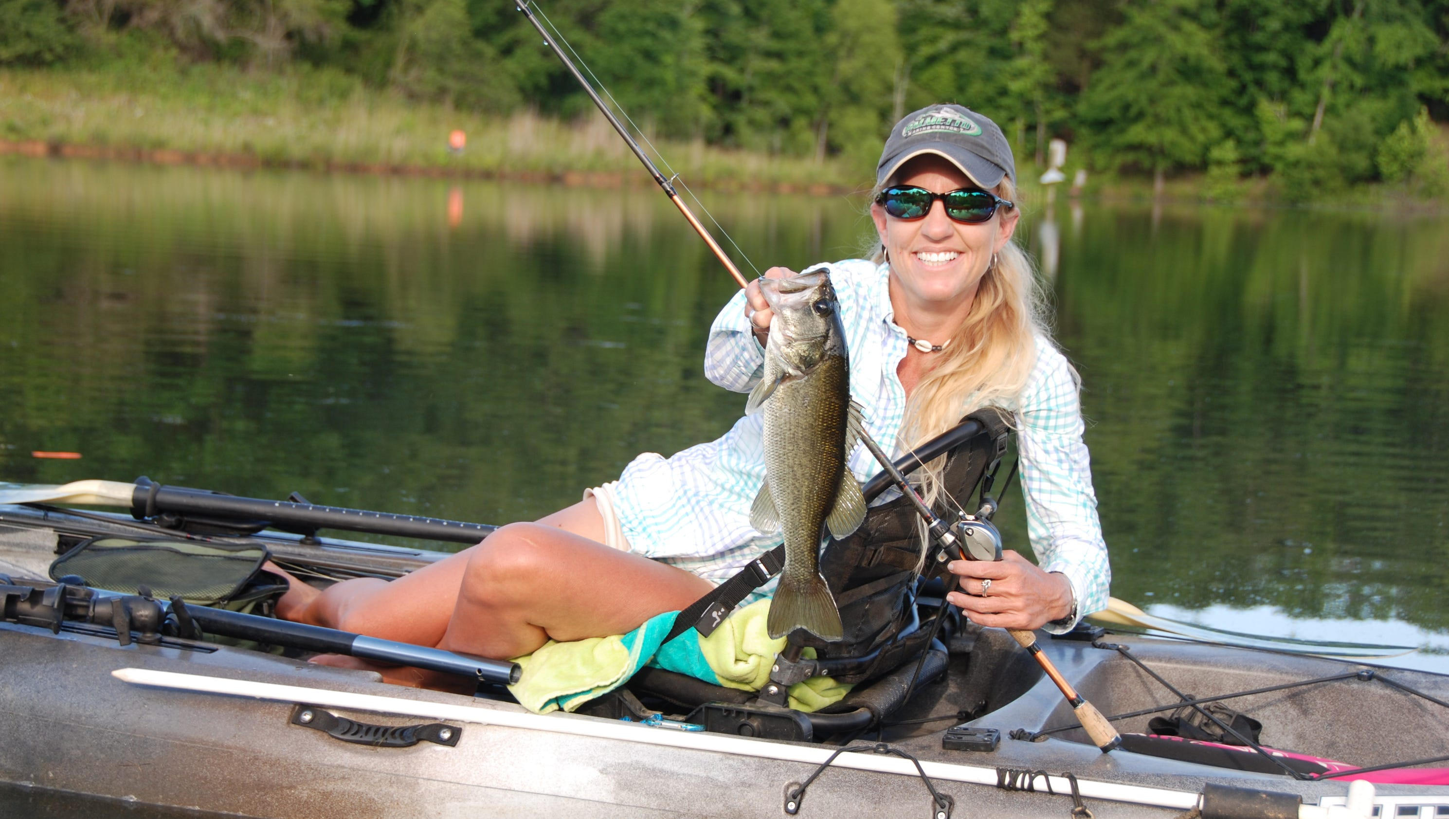 Upstate outdoors this time of year it 39 s better to be a for Be a big fish in a small pond
