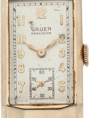 Clarke Hinkle's 1936 NFL championship watch will be auctioned Friday.