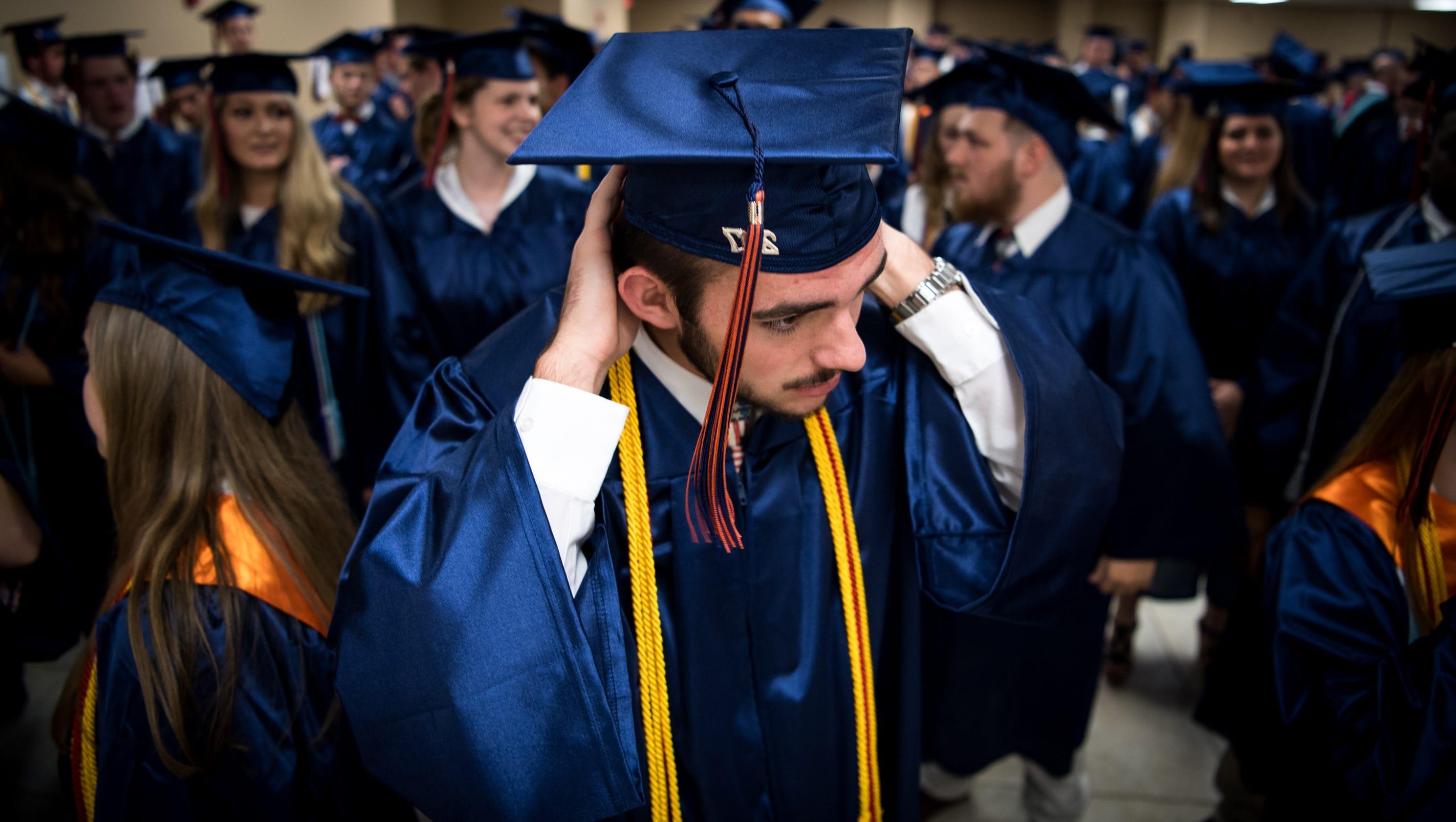 Graduating high school essays