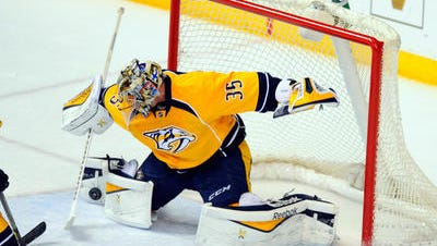 The Preds' Pekka Rinne is expected to return to the net for Thursday's game against Anaheim.