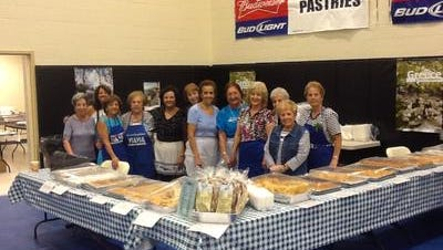 Women from St. Barbara Greek Orthodox Church annually prepare and sell traditional Greek pastries during the church's Greek Festival, scheduled for this weekend in Toms River.
