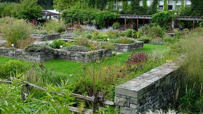 Herb garden at the Cornell Plantations.