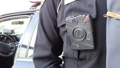 Body cameras like this one might be coming soon for Hamilton County sheriff deputies.