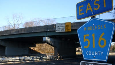 The County Route 516 bridge over Route 18 in Old Bridge is slated for a deck replacement.