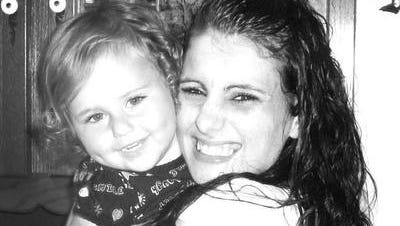Jamie Green, with her daughter. Green died in September after she overdosed in the Kenton County jail.