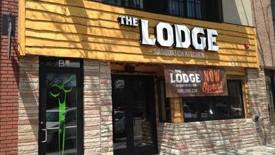 The Lodge Sasquatch closed in January and will soon be replaced by a restaurant serving breakfast lunch and dinner. Scott Jennings, founder of Cheba Hut, has leased the space at 151 N. College Ave.