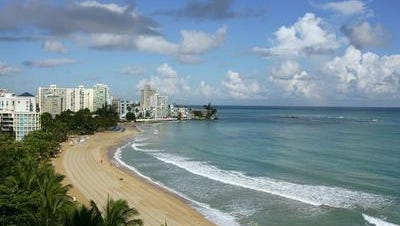 Puerto Rico may be near bankruptcy, but it does have great beaches.