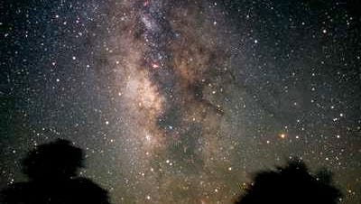 The Milky Way and Sagittarius constellation.