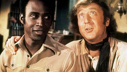 Cleavon Little (left) and Gene Wilder in Mel Brooks'