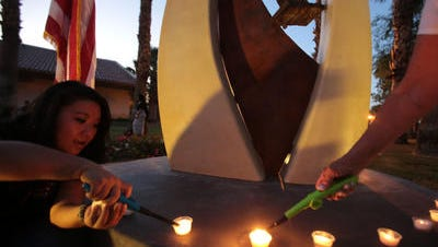 The city of La Quinta will hold a 9/11 candlelight vigil honoring the victims and first responders of the terror attacks on Sunday at the Civic Center Campus park.