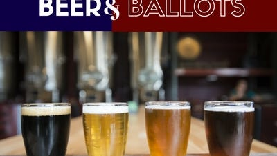 The Coloradoan will host a beer and ballots event Thursday at Intersect Brewing